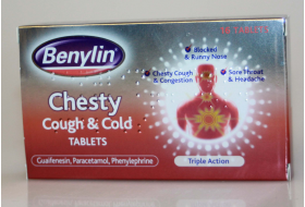 Benylin Chesty Cough & Cold Tablets 16
