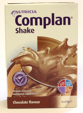 Complan Shake Chocolate Flavour 4 x 57g