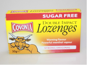 Covonia Double Impact Lozenges Sugar Free - 30g
