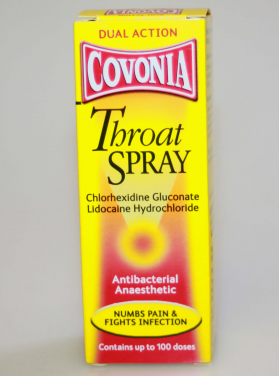 Covonia Throat Spray Dual Action - 30ml