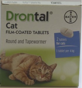 Drontal Cat - 2 tablets