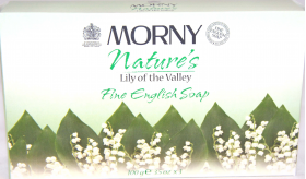 Morny Fine English Soap Lily Of The Valley  3 X 100G