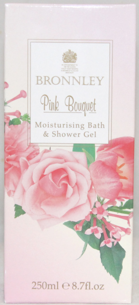 Bronnley Pink Bouquet Moisturising Bath & Shower Gel 250ml