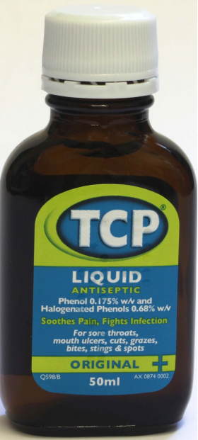 TCP Liquid Antiseptic Original - 50ml
